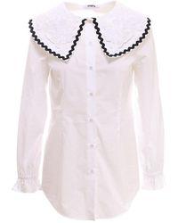 Vivetta Shirt G0110650 - Wit