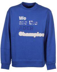 ADER error Sweatshirt - Blauw
