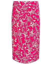 Étoile Isabel Marant Patterned Skirt - Roze