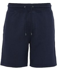 COLORFUL STANDARD Shorts - Blauw
