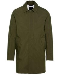 J.Lindeberg Cappotto Carter Sharp Cotton - Verde
