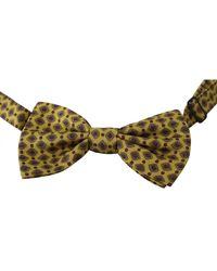 Dolce & Gabbana Adjustable Neck Papillon Tie - Geel
