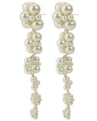 Custommade• Earrings - Naturel