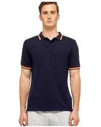 Sundek Brice Polo Shirt M779plj6500-613 - Blauw