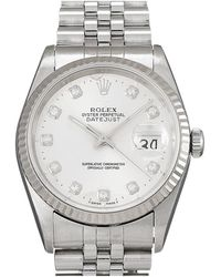 Rolex Montre datejust 36 d'occasion - Gris