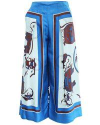 Kate Spade Striped tote bag - Blu