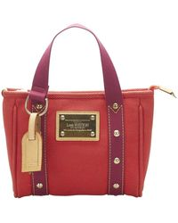 Louis Vuitton Antigua Cabas PM - Rosso