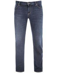 ALBERTO Ds Sustainable Denim Jeans 4837 1379 890 - Blauw