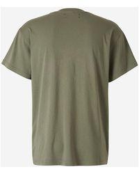 Amiri - Bandana Stars T-Shirt Verde - Lyst