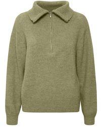 Part Two Kaje Sweater - Grün