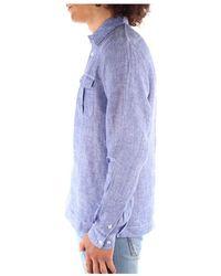 Blauer 21Sblus01216 Camisa Azul