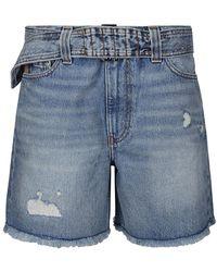 Ganni Shorts - Blauw
