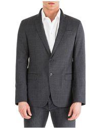 Emporio Armani Men's Jacket Blazer - Grijs