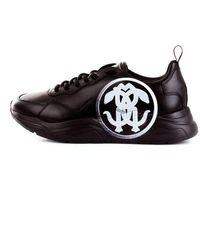 Roberto Cavalli 3272a Low Top Sneakers - Zwart