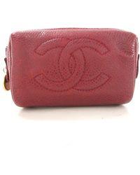 Chanel Vintage Pochette - Rouge