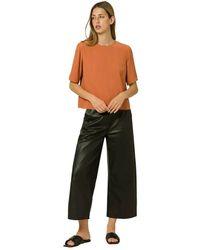 IVY & OAK Top Short Sleeve - Oranje
