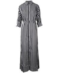 Laneus Chemisier Dress - Wit