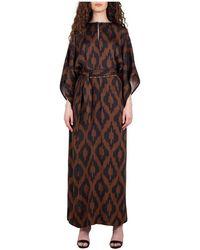 Bazar Deluxe Maxi Dress - Marron