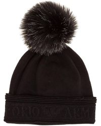 EA7 Beanie Hat - Zwart