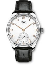 IWC Schaffhausen Portugieser Watch - Grau