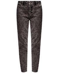 Michael Kors Jeans Met Logo - Grijs