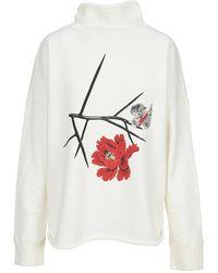 Undercover Knitwear Uc2a18951fleece - Wit