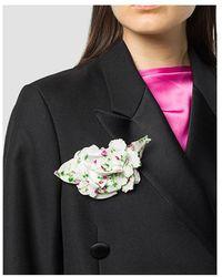 Philosophy Di Lorenzo Serafini Flower brooch Beige - Neutro