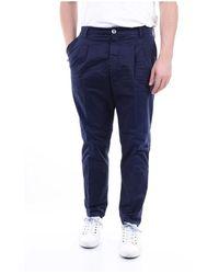 Aglini Jaguar58Gp Regular trousers - Blu