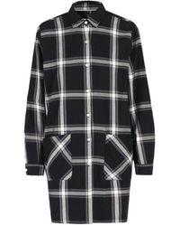 Woolrich Over Shirt Flannel Shirt - Noir