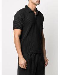 Issey Miyake Polo Shirt Negro