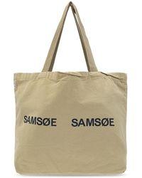 Samsøe & Samsøe Shopper bag - Neutre