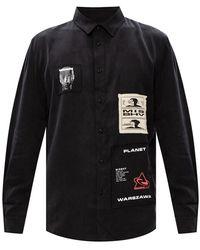 MISBHV Patched shirt - Noir