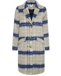 Saint Tropez Coat - Blauw