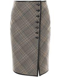 Saint Laurent - Skirt 641230y7b57 - Lyst