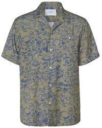 Les Deux Kingston Shirt - Groen