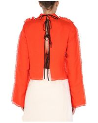 Marni Bolero Shirt - Orange