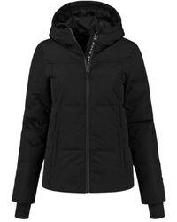 NIKKIE Logo Ski Jacket - Zwart