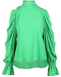 Erika Cavallini Semi Couture Shirt - Groen