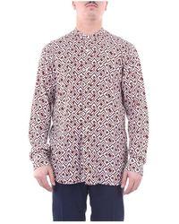 Tintoria Mattei 954 Rgmnuufqq1 Korean Shirt - Bruin
