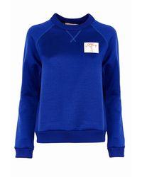Plan C Felpa Sweatshirt - Bleu
