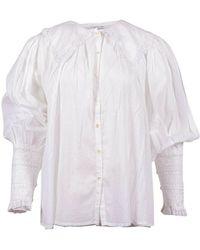 Antik Batik Blouse - Blanco