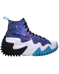 Converse Run Star Motion Space Jam Sneakers - Blauw