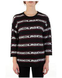 Love Moschino - T-shirt manica lunga Ws71G10X1422 - Lyst