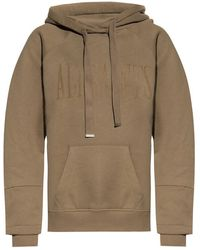 AllSaints Lucia hoodie with logo - Verde
