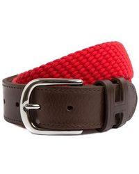 Hackett Belt - Rouge