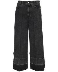Stella McCartney - Wide-leg Jeans - Lyst