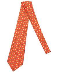 Hermès Tweedehands Slakken - Rood