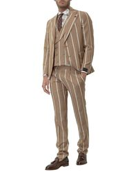 Gabriele Pasini Philosophy Three Piece Suit - Neutro
