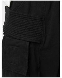 Rick Owens - Creatch Knit Cargo Drawstring Pants Negro - Lyst