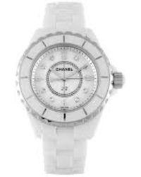 Chanel J12 Watch - Blanc